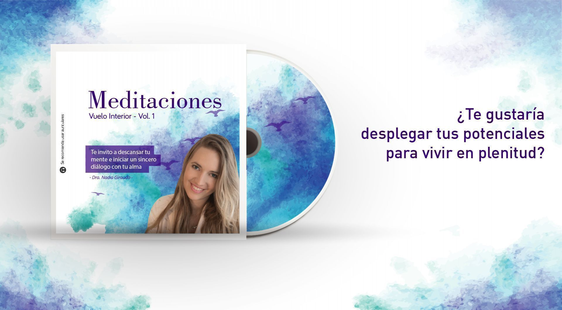 CD de Meditaciones - vuelo interior, volumen 1